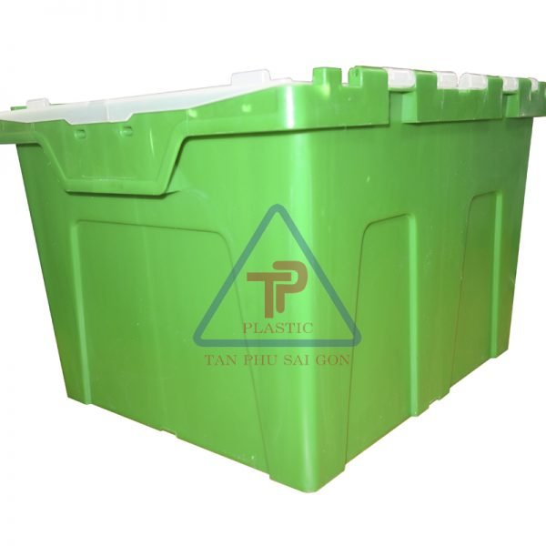w – container xanh – mat nghieng